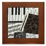 Oboe Framed Tile