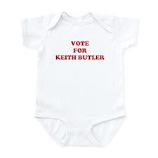 VOTE FOR KEITH BUTLER Infant Bodysuit