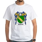 Andrada Coat of Arms White T-Shirt