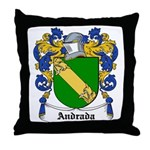 Andrada Coat of Arms Throw Pillow
