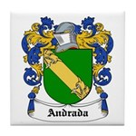 Andrada Coat of Arms Tile Coaster