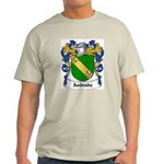 Andrada Coat of Arms Ash Grey T-Shirt