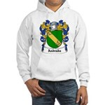 Andrada Coat of Arms Hooded Sweatshirt