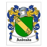 Andrada Coat of Arms Small Poster