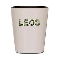 Leos, Vintage Camo, Shot Glass