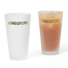 Longshore, Vintage Camo, Drinking Glass