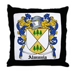 Almunia Coat of Arms Throw Pillow