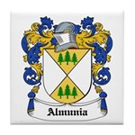 Almunia Coat of Arms Tile Coaster