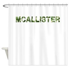 Mcallister, Vintage Camo, Shower Curtain