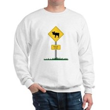 Moose Crossing Sweatshirt