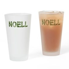 Noell, Vintage Camo, Drinking Glass