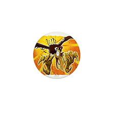 Time Buzzard Mini Button