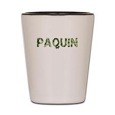 Paquin, Vintage Camo, Shot Glass