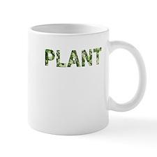 Plant, Vintage Camo, Mug