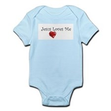 Jesus Loves Me Body Suit