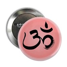 "Om - Sanskrit 2.25"" Button"