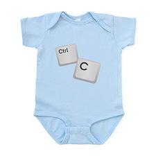 Control C, copy Infant Bodysuit