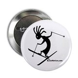 "Kokopelli Extreme Skier 2.25"" Button (100 pack)"
