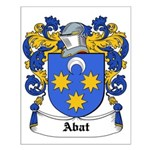 Abat Coat of Arms Small Poster