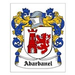 Abarbanel Coat of Arms Small Poster