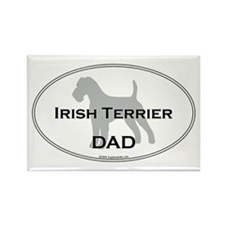 Irish Terrier DAD Rectangle Magnet