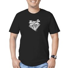 Shine On Black T-Shirt T-Shirt