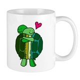 Turtles In Love Small Mug