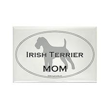 Irish Terrier MOM Rectangle Magnet