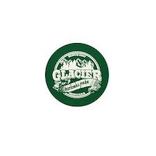 Glacier Old Circle Mini Button
