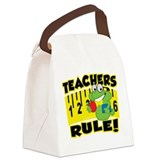 Teachers-Rule.png Canvas Lunch Bag