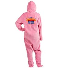 I-Just-Awesomed.png Footed Pajamas
