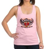 Autism-Wings.png Racerback Tank Top