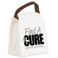 Brain-Cancer-Find-A-Cure.png Canvas Lunch Bag