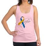 Down Syndrome Ribbon Hope Racerback Tank Top