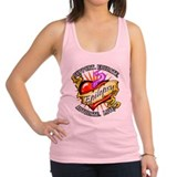 Epilepsy Tattoo Heart Racerback Tank Top