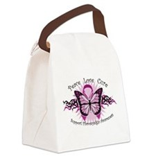 FibromyalgiaTribal-Butterfly.png Canvas Lunch Bag
