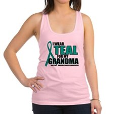 OC-Teal-For-GRANDMA.png Racerback Tank Top