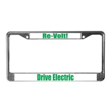 Re-Volt Drive Electric License Plate Frame