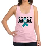 Tourette's Proud Mom Racerback Tank Top