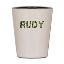 Rudy, Vintage Camo, Shot Glass