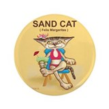 "Sand cat - 3.5"" Button"