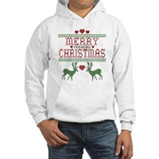 Cross Stitch Christmas Hoodie