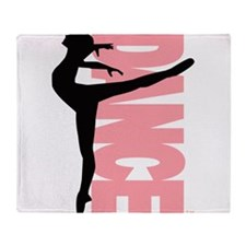 Beautiful Dance Figure Throw Blanket