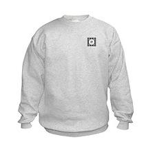 Diamond Black Monogram Sweatshirt