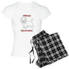 Westie Mum Pajamas