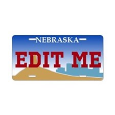 Nebraska - 2000 license plate replica