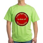 Personality Green T-Shirt