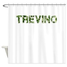 Trevino, Vintage Camo, Shower Curtain