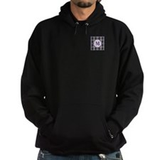 Diamond Purple Monogram Hoodie