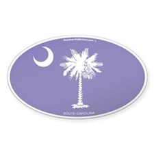 South Carolina State Flag Decal